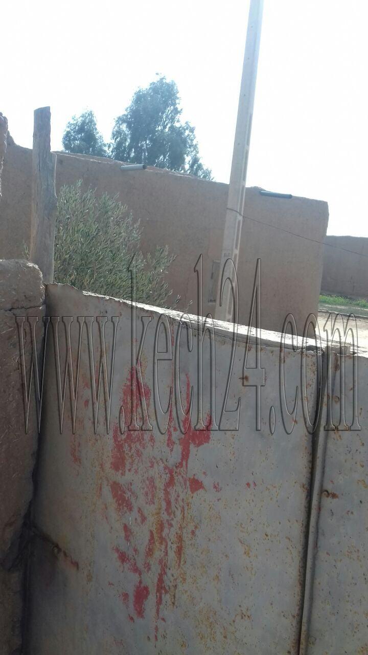 مواطن يستولي على عمود كهربائي ويضمه إلى جملة أملاكه بنواحي مراكش + صور