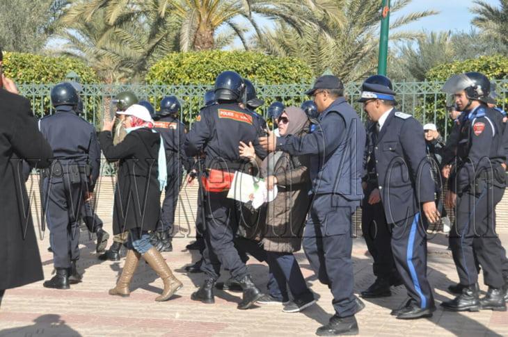 فرع المنارة للجمعية المغربية لحقوق الإنسان يقدم حصيلة الوضع الحقوقي بمراكش