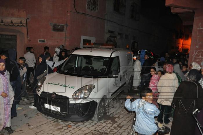 عاجل: أربعيني من ذوي الإحتياجات ينتحر بإضرام النار في جسده بمراكش + صور