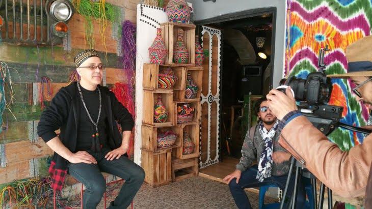 """الفنان حميد بوشناق يستعد لإطلاق كليب """"أفريقيا ماما أفريكا"""""""