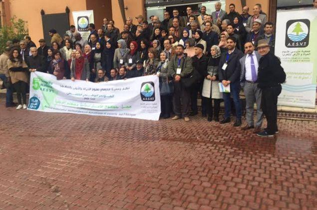 جمعية أساتذة علوم الحياة والأرض تختتم مؤتمرها الخامس بمراكش
