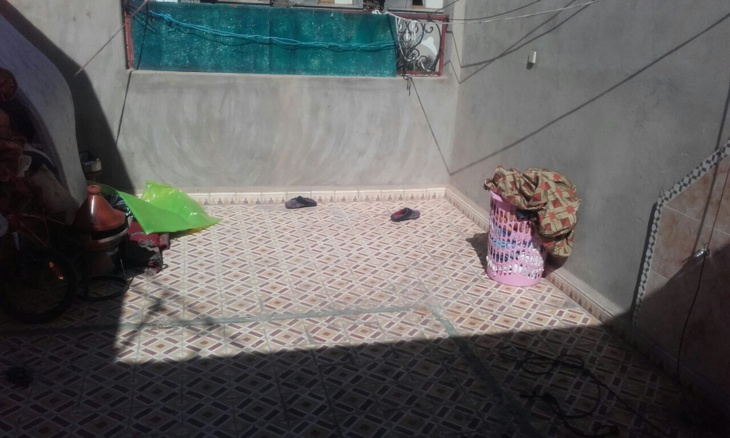 تنفيذ قرار هدم بناء غير قانوني بالحي المحمدي الشمالي بمراكش + صور