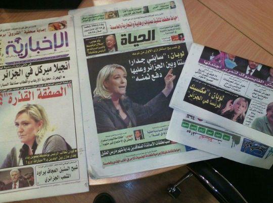 صحف جزائرية تأخذ خبرا فرنسيا ساخرا على محمل الجد