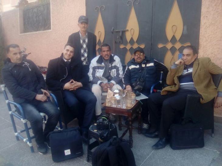 نادي المصور الصحفي بجهة مراكش آسفي يعزي في وفاة الشرطي محمد الضخامة