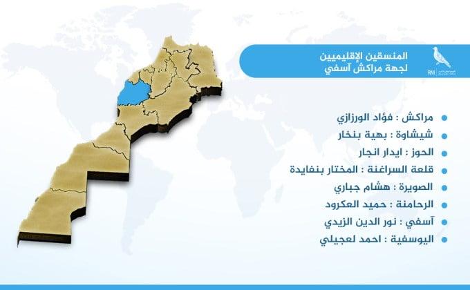 هذه لائحة المنسقين الإقليميين الجدد لحزب الاحرار بحهة مراكش آسفي