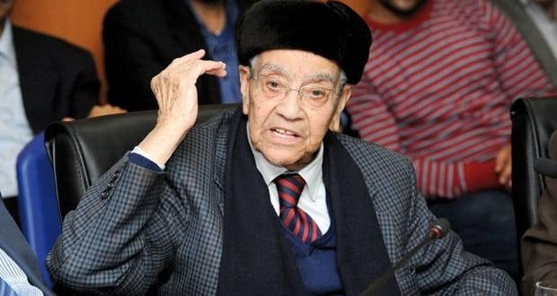 جثمان الزعيم الإستقلالي محمد بوستة سيوارى الثرى بمقبرة بلعريف بمراكش