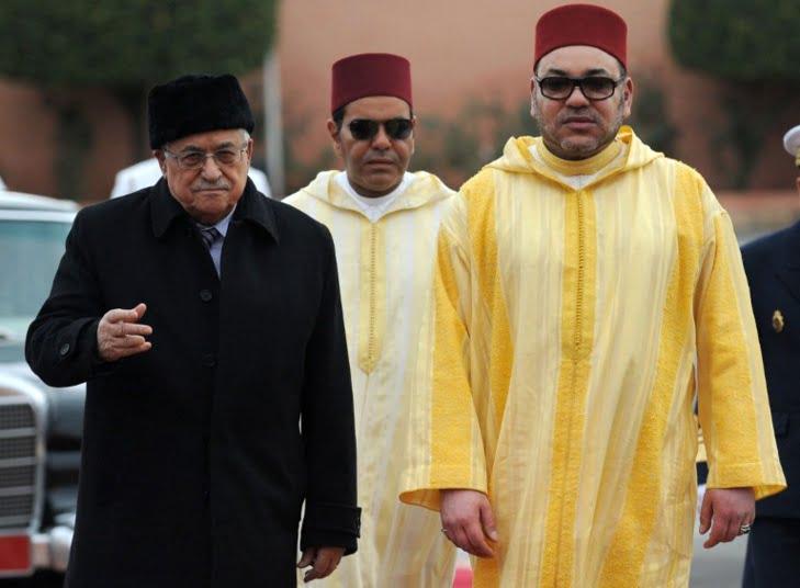 الرئيس الفلسطيني أول المعزين للملك في وفاة الزعيم السياسي المراكشي محمد بوستة
