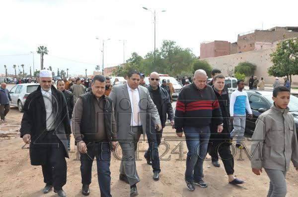 تشييع جثامين ضحايا فاجعة سيدي يوسف الى مثواهم الاخير بمراكش + صور