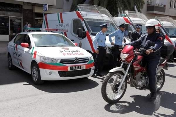 عناصر الشرطة القضائية تلاحق لصين