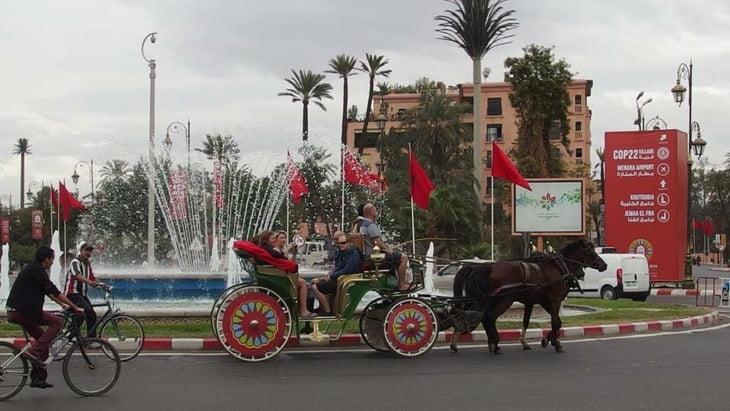مراكش تتصدر قائمة المدن الإفريقية الافضل و الاجود للحياة
