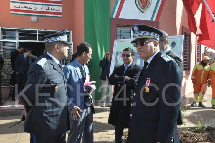 عاجل: تدشين المنطقة الأمنية المحاميد بمراكش + صور
