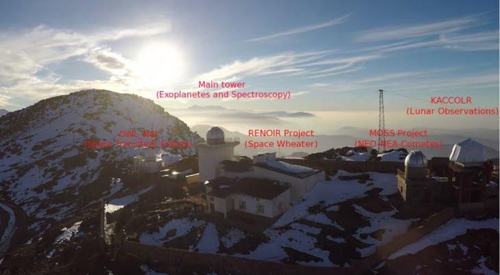 المرصد الفلكي لجامعة القاضي عياض بمراكش يتألق ويساهم في انجاز عالمي لوكالة نازا