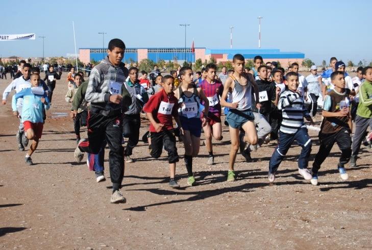 جمعية العزيزية 2 بمراكش تنظم سباقها الأول على الطريق
