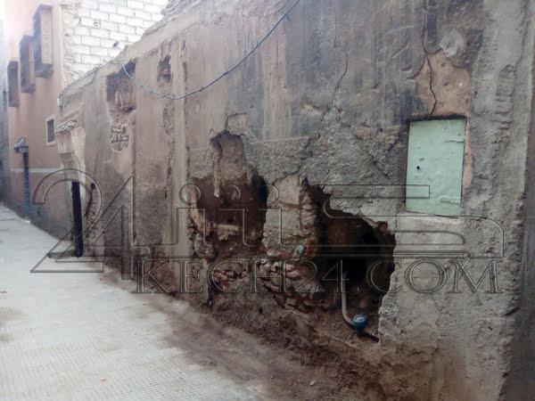 الكشف عن عدد المنازل الآيلة للسقوط بمراكش