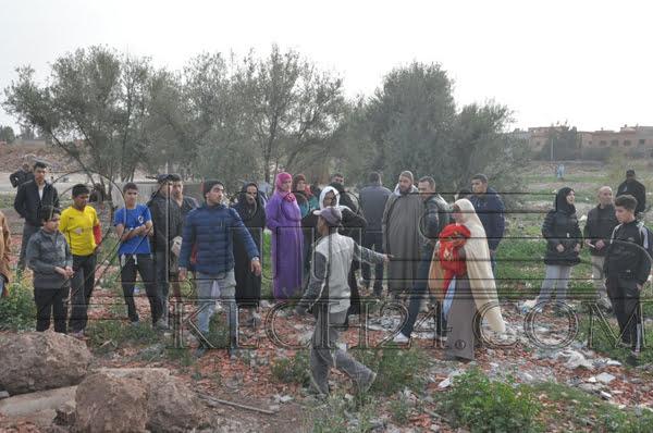 تشريد أسر بعد هدم منازلها بالقوة فوق رؤوسها في عز الإضطرابات الجوية بمراكش + صور