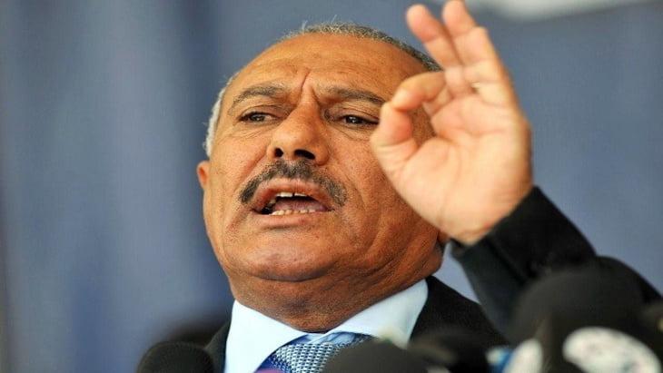 صالح يهدد المغرب ودول التحالف العربي بقيادة السعودية بصواريخ طويلة المدى