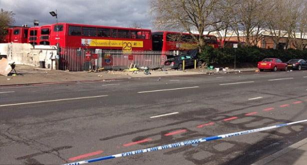 إصابة خمسة أشخاص في حادثة دهس متعمد جديدة بلندن