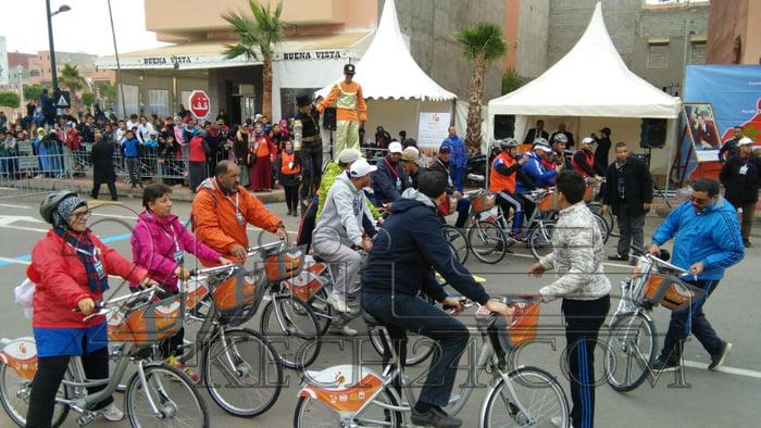 تنظيم السباق الاول على الطريق بمقاطعة المنارة بحضور والي الجهة + صور