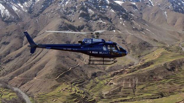مندوبية الصحة بالحوز تعلن عن إنقاذ سويسرية بعد سقوطها من جبل توبقال
