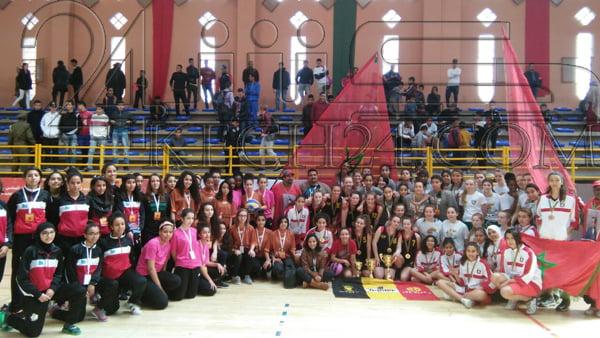 بالصور: فريق بلجيكي يتوج بطلا للنسخة الأولى من الدوري الدولي لكرة السلة بمراكش