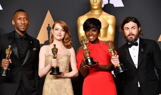 هؤلاء الفائزون الرئيسيون بجوائز أوسكار التاسعة والثمانين لعام 2017
