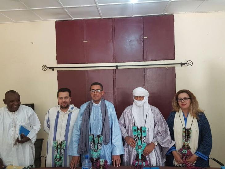 وفد من مجلس جهة مراكش آسفي يجري زيارة للنيجر ويلتقي نظيره بأغاديس + صور