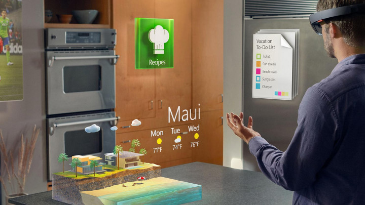 الكشف عن نسخة جديدة من نظارات الواقع الافتراضي لمايكروسوفت