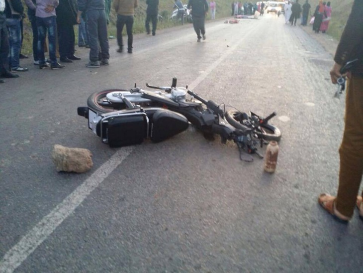 سقوط جريحين في إصطدام خطير بين دراجتين ناريتين من نوع