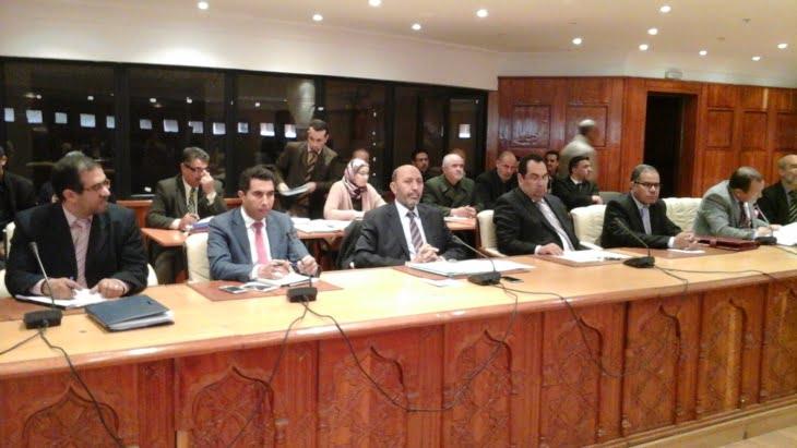 العمدة بلقايد يستعرض المخطط السداسي لعمل جماعة مراكش بحضور والي الجهة لبجيوي
