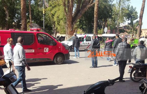 عاجل: إصابة طفلة ألمانية إثر سقوطها من عربة