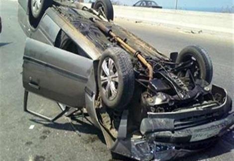 حادثة سيرة مميتة إثر إنقلاب سيارة على الطريق السيار بين مراكش وأكادير