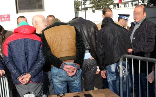 تفكيك شبكة إجرامية تنشط في الاتجار في المخدرات والقرقوبي   Kech24 ...