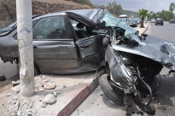 حوادث سير خطيرة عند تقاطع طرقي بمدخل مراكش والسبب غياب علامات التشوير
