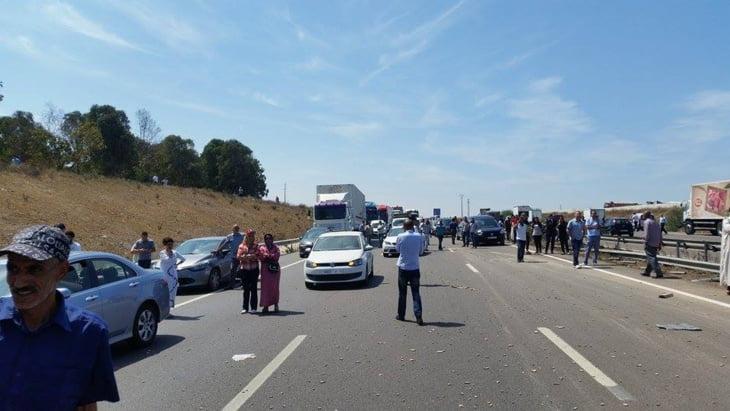 سقوط ثلاثة قتلى في حادثة سير مروعة على الطريق السيار بين مراكش وسطات
