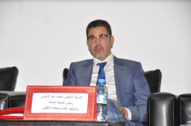محمد عبد النبوي الوكيل العام للملك يحل ضيفا على