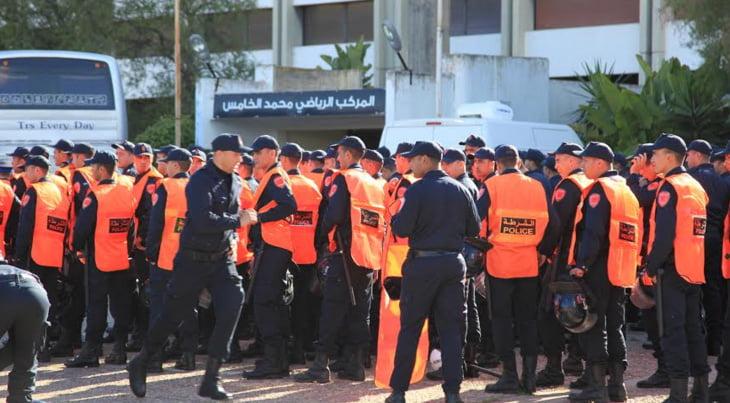هذا هو عدد رجال الأمن الذين سيؤمنون نهائي الوداد والأهلي