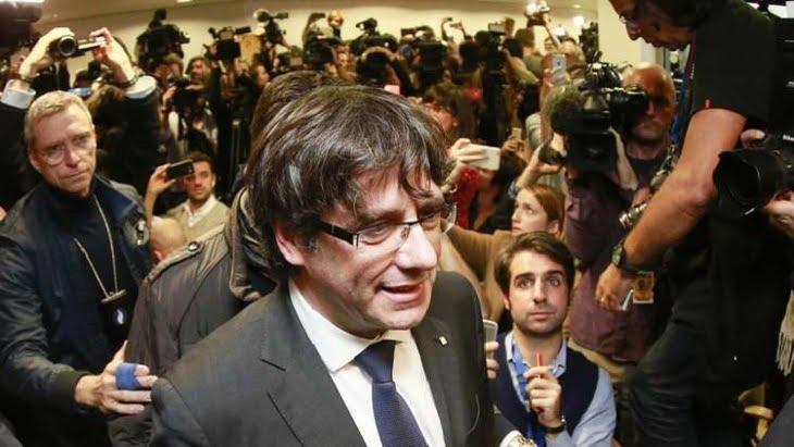 مدريد تقرر سجن أعضاء الحكومة الكتالونية المقالة حتى انتهاء التحقيقات