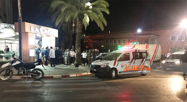 عاجل: أشخاص على متن دراجات تيماكس يطلقون النار على رواد مقهى بمراكش