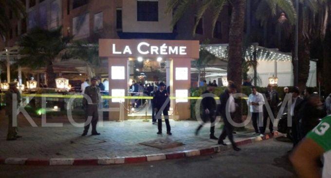 الجمعية المغربية لحقوق الإنسان تدين العمل الإجرامي الشنيع الذي هزّ مقهى بمراكش