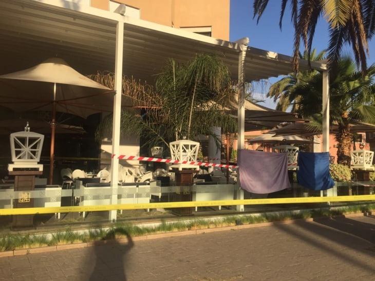 بالصور: هكذا بدا مسرح جريمة إطلاق النار الذي هزّ مراكش بعد ليلة دامية