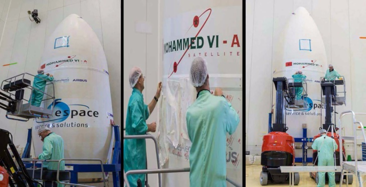 بالصور.. الإستعدادات جارية لإطلاق أول قمر صناعي مغربي