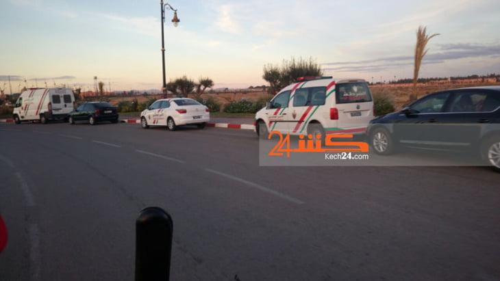 هذا ما عثر عليه أمن مراكش في منطقة قام بتمشيطها عقب إطلاق النار على مقهى