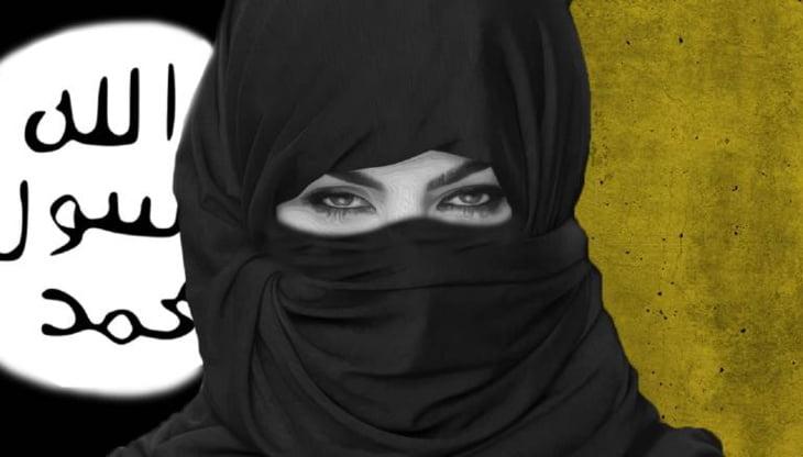 سيدة داعش الأولى تعتنق الديانة المسيحية