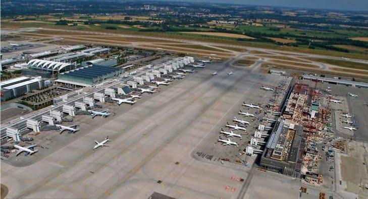 مغربي يتسبب في إغلاق أكبر مطار في ألمانيا