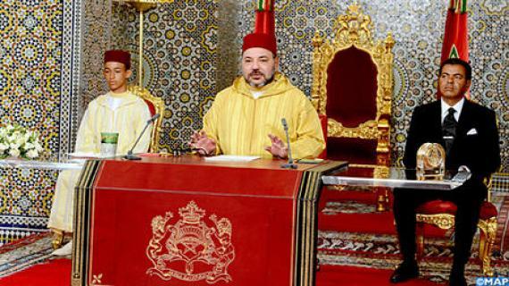 الملك يوجه خطابا ساميا بمناسبة الذكرى الثانية والأربعين للمسيرة الخضراء