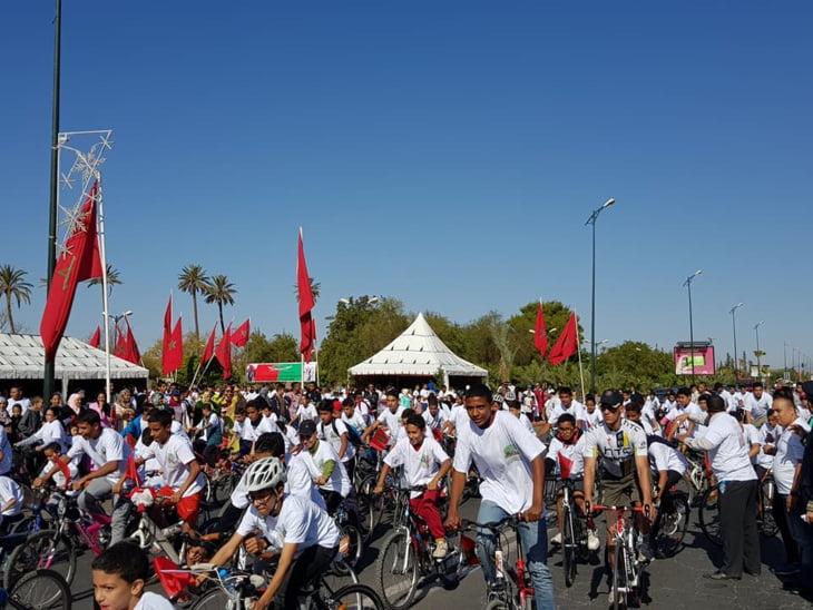 جمعية أركانة للتنمية البشرية تخلد ذكرى المسيرة الخضراء بمراكش بحضور الوالي لبجيوي + صور