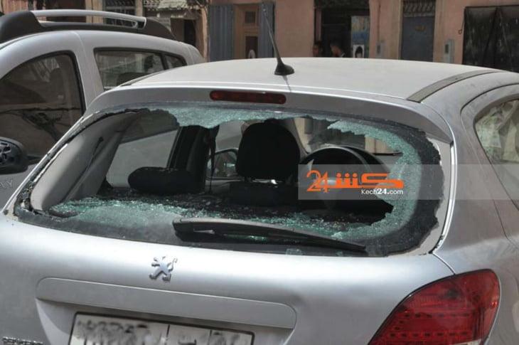 السيبة: شخصان في حالة سكر يهشمان زجاج سيارة ويروعان المواطنين بحي الأفاق بجماعة سعادة