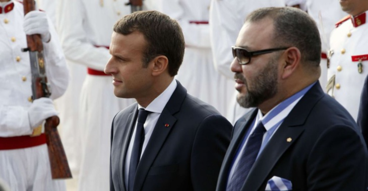 الملك محمد السادس والرئيس الفرنسي يشاركان في افتتاح متحف