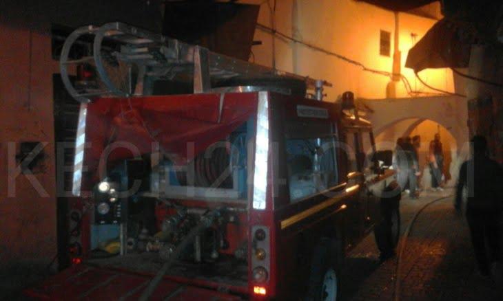 شارجور يتسبب في حريق وخسائر جسيمة في منزل بالمدينة العتيقة لمراكش+ صور