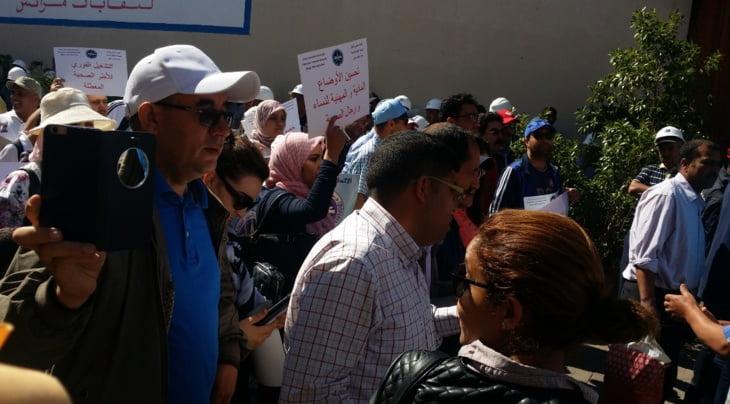 الجامعة الوطنية للصحة بمراكش تطالب بوقف الشطط في استعمال النفوذ من لدن مسؤولين نقابيين